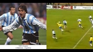 BRASIL X ARGENTINA - COPA AMÉRICA 95