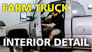 Dirty Farm Truck Interior Detail!