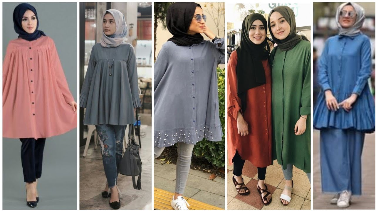 [VIDEO] - Trendy hijab fashion &top style for summer 1