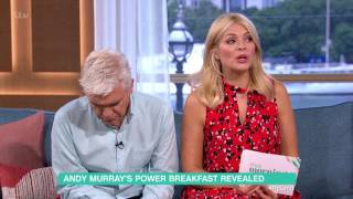 Andy Murray's Power Breakfast Revealed | This Morning