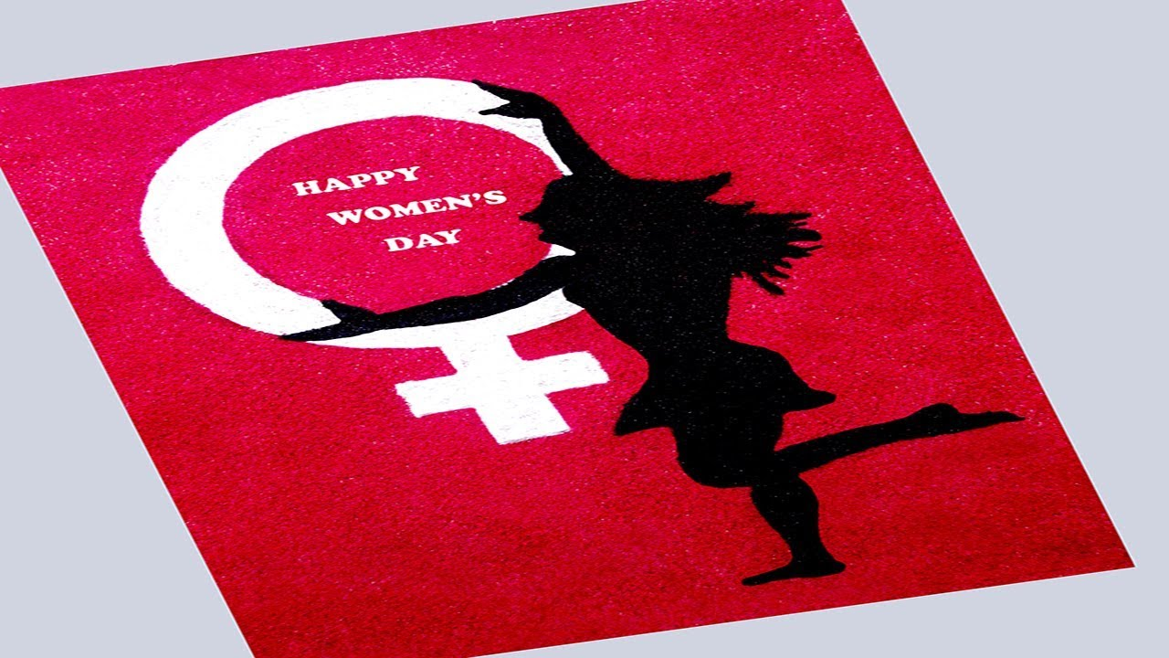 Happy Women S Day Rangoli Women S Day Special Rangoli 8 March Special Rangoli Youtube Feel free to use these this year's theme is #choosetochallenge, calling on us all to think critically about our own. happy women s day rangoli women s day special rangoli 8 march special rangoli
