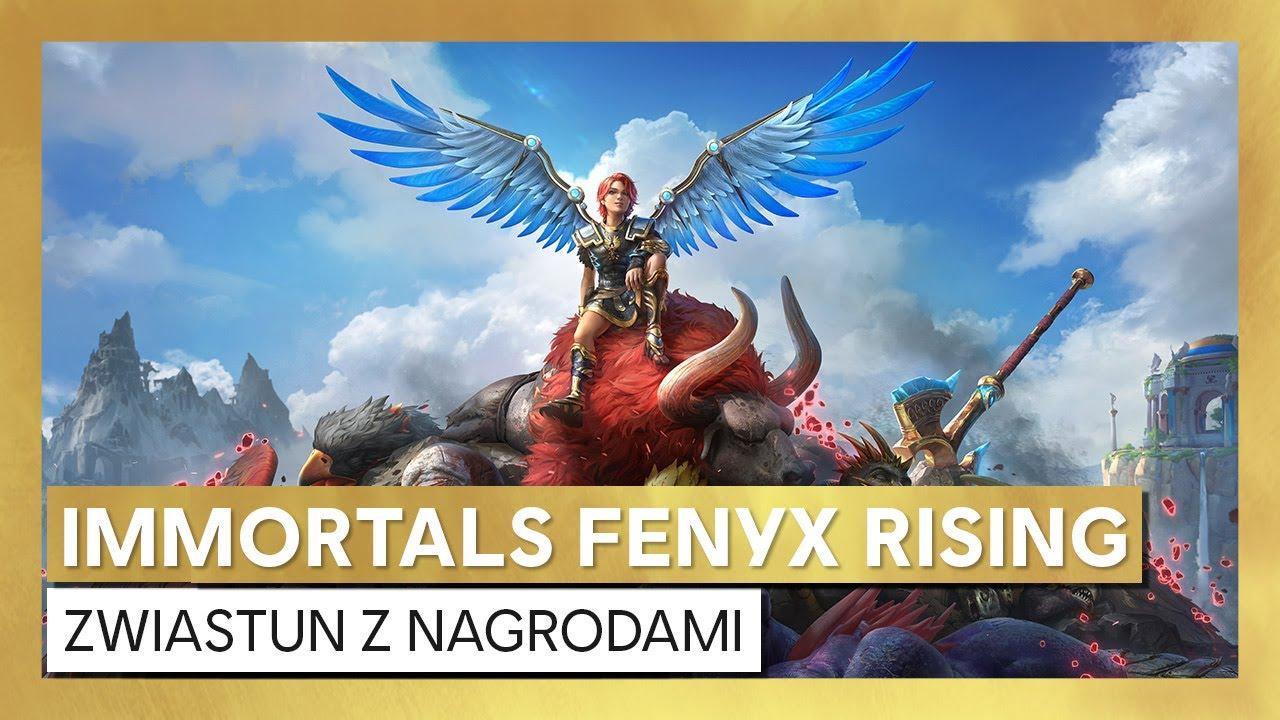 Immortals Fenyx Rising – zwiastun nagrodami