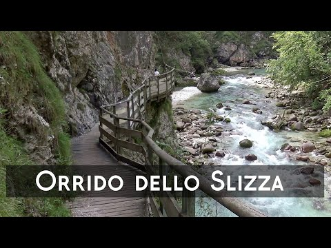 ORRIDO DELLO SLIZZA, Tarvisio, Italy | 4K ~ Beautiful Places on Earth