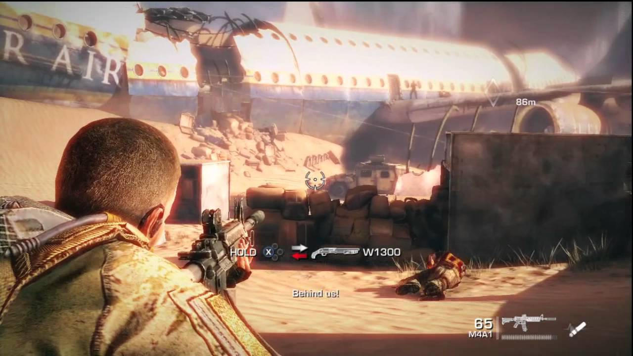 Spec Ops: The Line DEMO Gameplay PL - YouTube