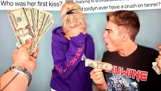 PAYING JORDYN JONES TO TELL ME HER DEEPEST SECRETS...AGAIN!