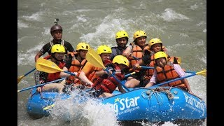 White water river rafting in Trishuli River, Nepal
