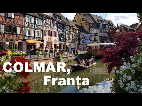 Colmar și împrejurimi, Alsacia, Franța [4K]