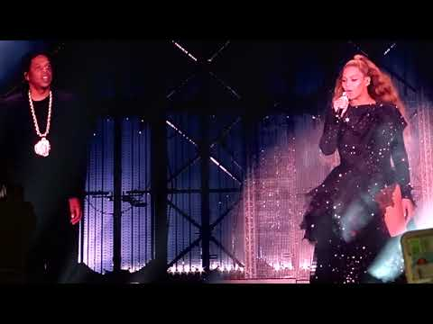 Beyoncé ft JayZ - Young Forever - live at On The Run II Tour Amsterdam 2018