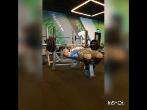 130kg 8Tekrar Bench Press Powerlifting Türkiye TCG