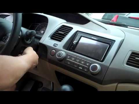 2016 honda civic radio wiring diagram for nutone bathroom fan install double din 2006 amp bypass youtube