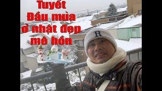 Gambar cover Tuyết Ở Nhật Đẹp Thế Này Á 😍 Omaigot l Nhật linh hoàng Vlogs