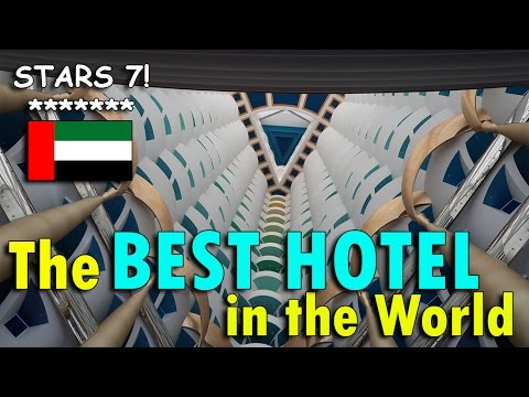 OMG! BEST HOTEL IN THE WORLD (7 STARS) | April 25th, 2017 | Vlog #94