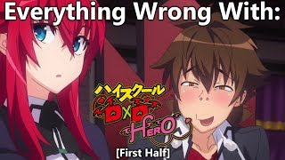 Everything Wrong With: High School DXD Hero | First Half