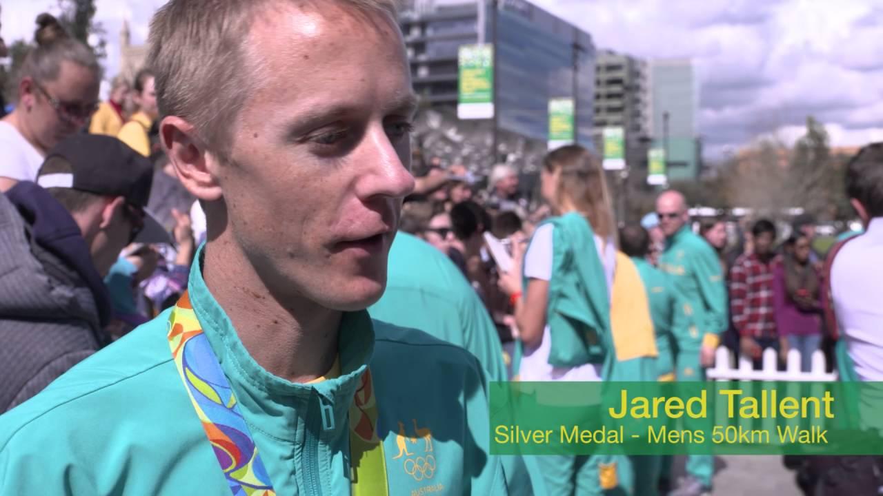 Welcome home Australia's Rio Olympic team