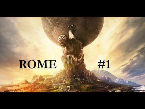 Civilization 6: Trajan's Rome- Part 1: The Birth of an Empire