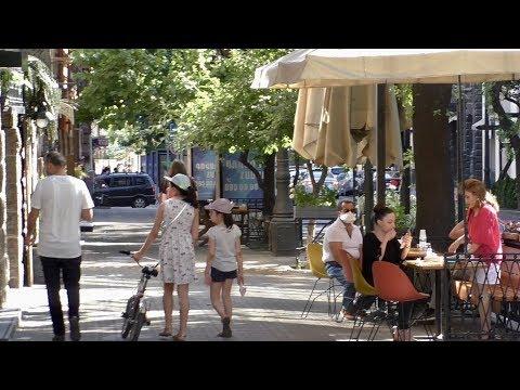 Ереван, 07.06.20, Su, Ресторанные улицы Абовяна и Пушкина, День 81, Video-1.