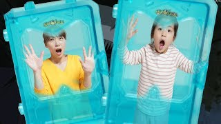 Seoeun Pretend Play Ghost Hunter with Mommy