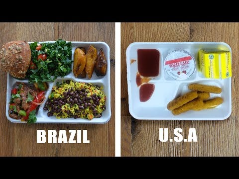 School Lunches from Around the World Make American Students