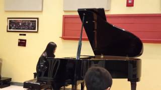 Solo Piano Performance - Elise Tran at OCMusic in Fountain Valley