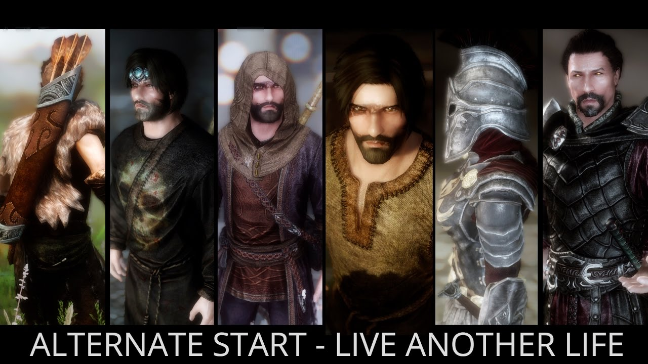 Skyrim Special Edition Mods - Alternate Start - Live Another