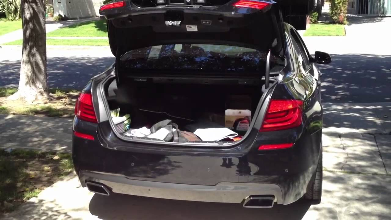 how to open g6 trunk without key