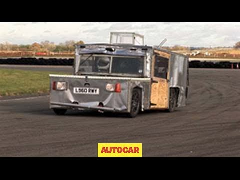 Top Gear Hammerhead Eagle i-Thrust electric car driven by autocar.co.uk