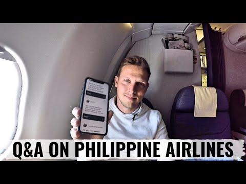 Review: PHILIPPINE AIRLINES A330 & ANSWERING YOUR QUESTIONS To MANILA