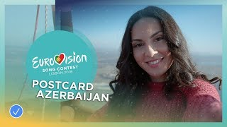 Postcard of Aisel from Azerbaijan - Eurovision 2018