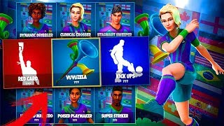 WORLD SKINS *GAMEPLAY* EXCLUSIVE!! Fortnite Battle Roale