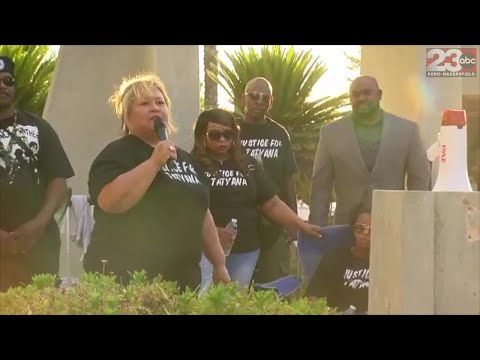 Bakersfield protest of alleged misconduct of BPD officers during arrest of Tatyana Hargrove