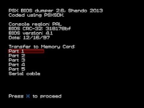 PS1 BIOS DUMP