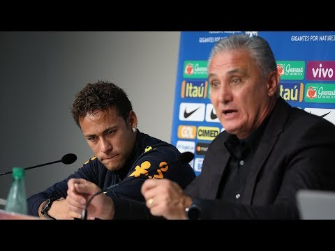 How Brazils coach made Neymar cry during a press conference - Oh My Goal
