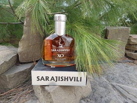 Бренди Sarajishvili XO, дегустация.