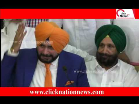 Navjot Sidhu || Punjab Cable Network Business || Press Confr