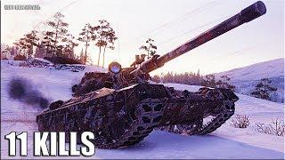 Progetto M40 mod. 65 🌟 11 ФРАГОВ 🌟 World of Tanks лучший бой ст 10 Италии