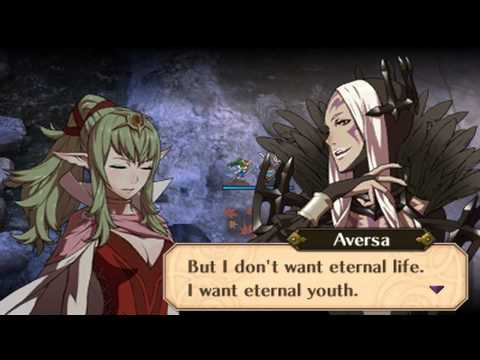 Fire Emblem Awakening - Aversa & Tiki Hot-Spring Scramble Conversations