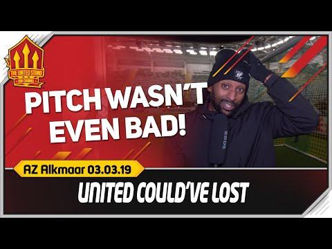 FLEX! NO PROGRESS! AZ Alkmaar 0-0 Manchester United Match Reaction
