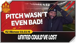 FLEX! NO PROGRESS! AZ Alkmaar 0-0 Manchester United Match Reaction