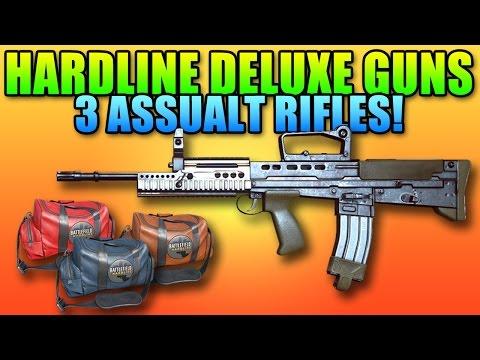 Hardline Deluxe Edition Guns Reviewed - L85A2, ACWR, CAR-556 | Battlefield Hardline Gameplay