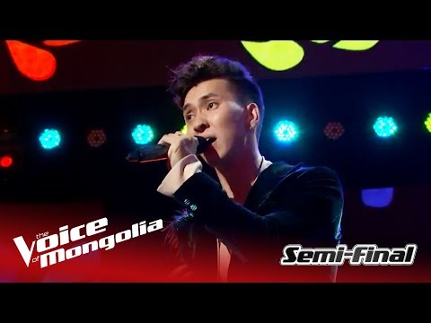 """Munkh-Erdene - """"When I was your man"""" 
