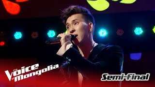 "Munkh-Erdene - ""When I was your man"" 