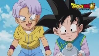 Dragon Ball SUPER Episode 1 Timeline / Goten and Trunks Side Stories / SCAN Translated [HD]