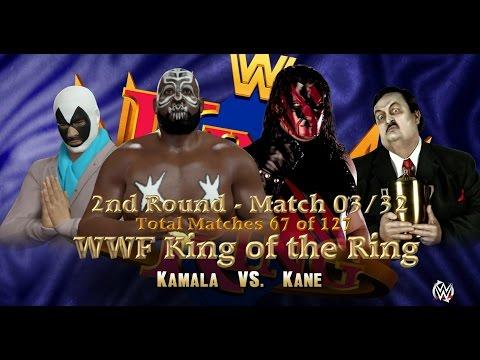 WWF KING OF THE RING: 2nd Round   Match 67   Kamala VS Kane [WWE 2K16 Gameplay] thumbnail