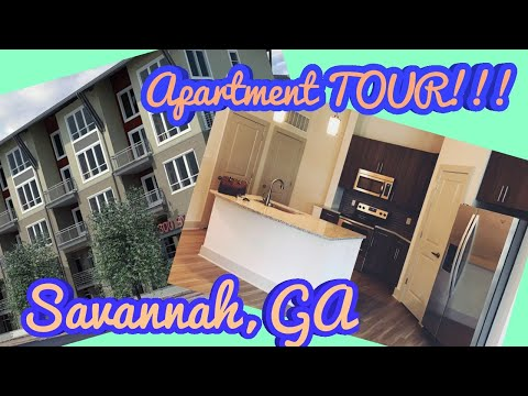 BRAND NEW *EMPTY* GEORGIA APARTMENT TOUR 2019 Savannah,GA / Port Wentworth,GA