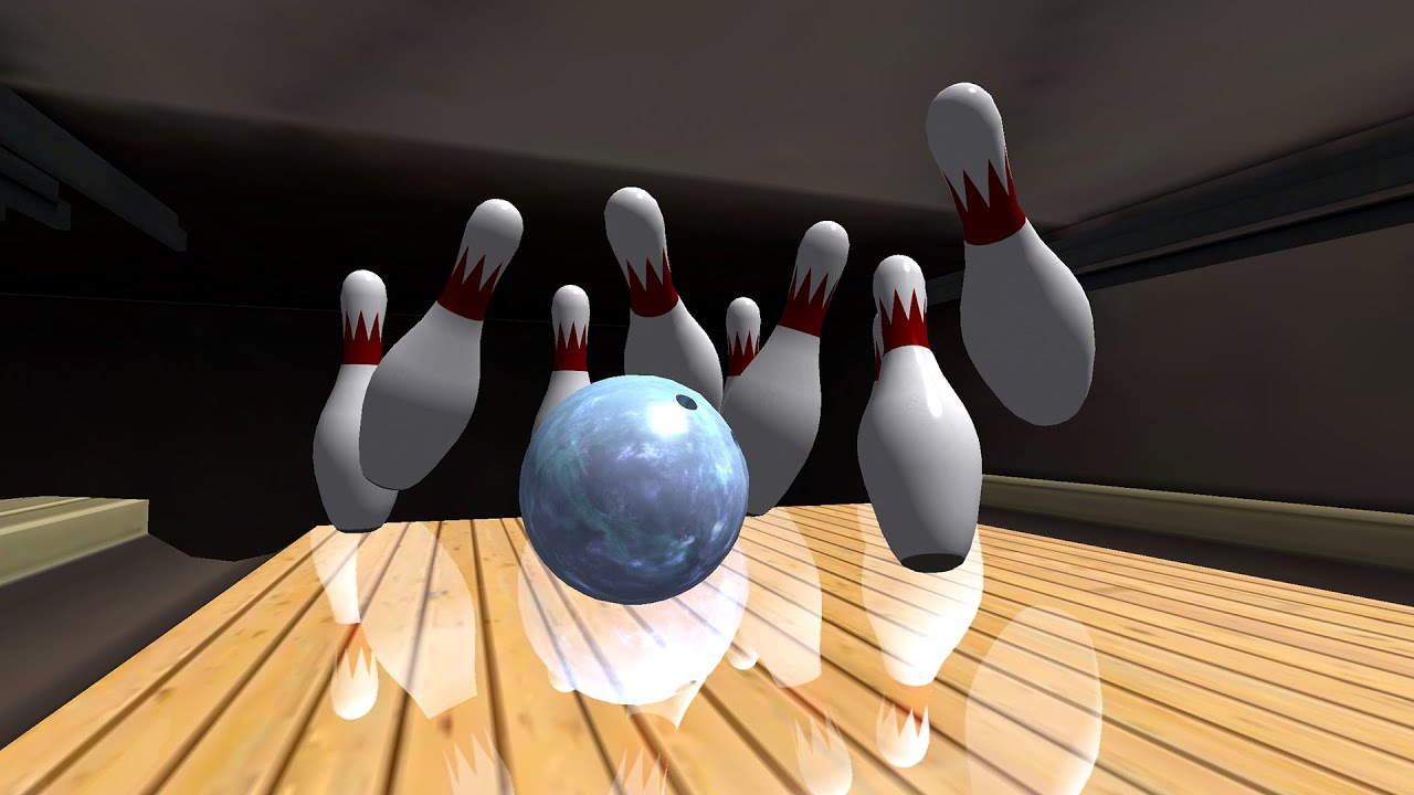 Two Sexy Girls Playing Photo Games And Bowling Lanes Background Clipart Cartoons By Vectortoons