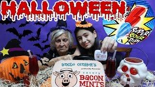 Bacon Doce e Jelly Belly Gosma Azeda com bisavó Especial de Halloween Kadunks Super Sour