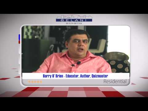 Premium Apartments kolkata  Barry O' Brien  Testimonial  Belani Group  Kolkata