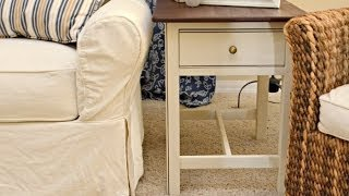 How To Refinish An End Table With 3m Diy