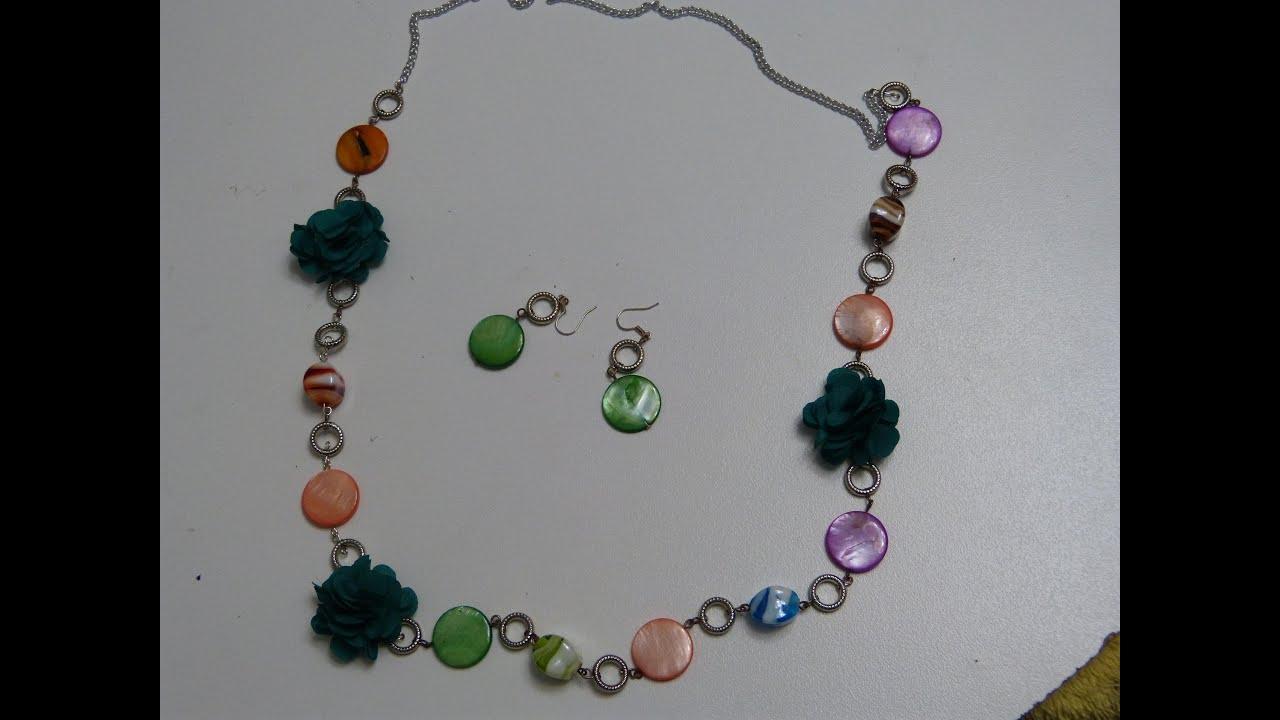 Como hacer collares collar piedras acr licas collares - Piedras para collares ...