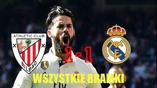 Athletic  Bilbao 1:1 Real Madryt wszystkie bramki, polski koemnatrz!